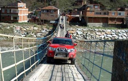 ブルブルな橋