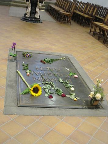 バッハのお墓
