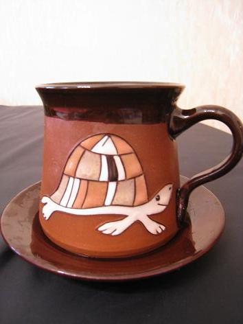 かめコーヒーカップ