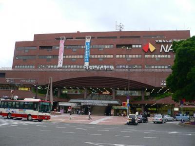 写真キャプション=人身事故のため、やっと辿りついた南海本線の「和歌山市駅」