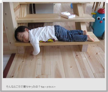 haruお昼寝