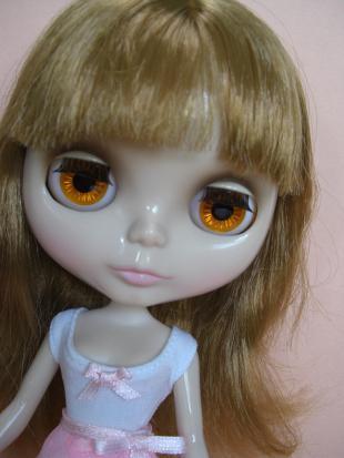 オーブリーナオレンジ目