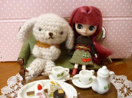二人のお茶会