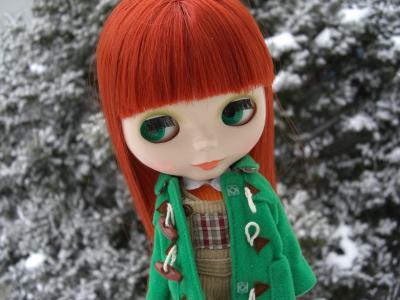 少し前まで雪がわんさか、平成の雪女か?