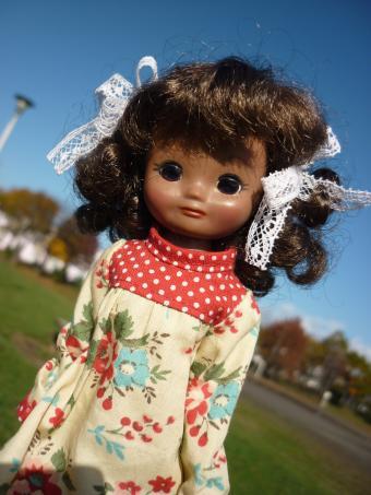 ドリュっ子はお外の方が可愛く撮れる。