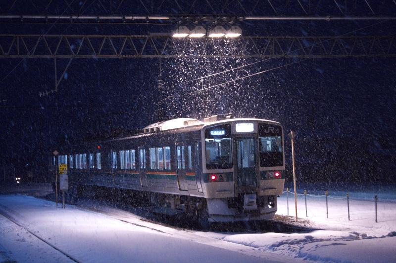 719系5000番台@米沢駅