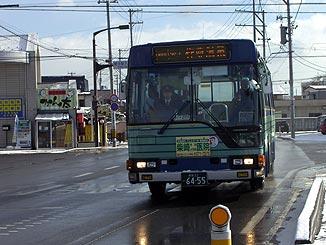 仙台市営バス@愛子駅前