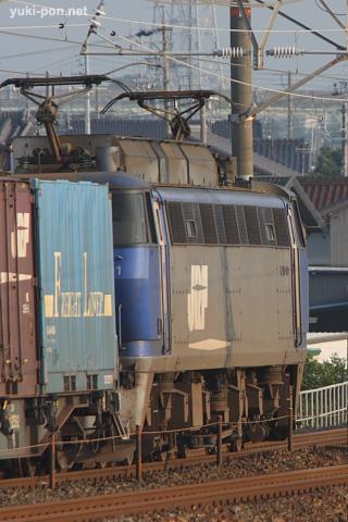 EF200-901+コキ貨物@下地