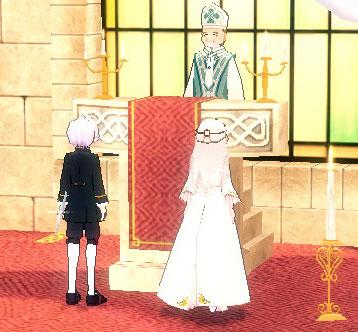 ゼロとリリの結婚式