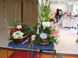 作品展の花3