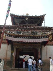 大経堂の門