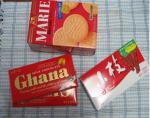 市販のお菓子でチョコレート作り!-材料-