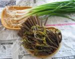 春の山菜 わらび のびる