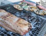 GW -3- お庭でBBQ お肉をやきますよ!