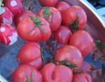GW -3- お庭でBBQ 冷やしたトマト