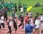 2006年名古屋シティマラソン ウォーミングアップ