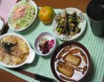 夕飯(低炭水化物ダイエット編)