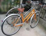 おちびの自転車