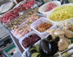 BBQ 焼き野菜とお肉