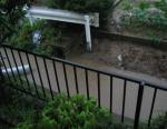 台風4号 用水の水が・・・