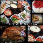 クリスマス料理 in 2007