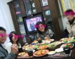 2008年 ひな祭り みんなで食事