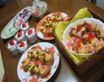 2008年 おひなまつり料理 デザート・ごはんもの