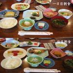 箱根旅行 朝食2日分