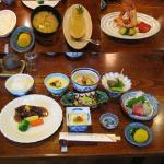 箱根旅行 夕食