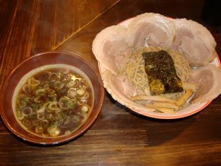 黒チャーシューつけ麺