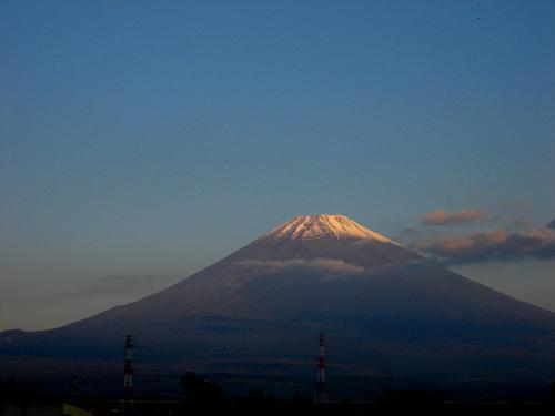 10月16日の富士山