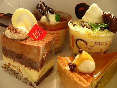 どのケーキにしようかなぁ?