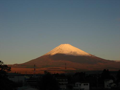 11月13日の早朝富士