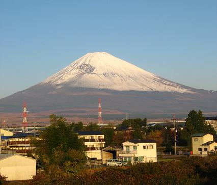 11月26日の富士山