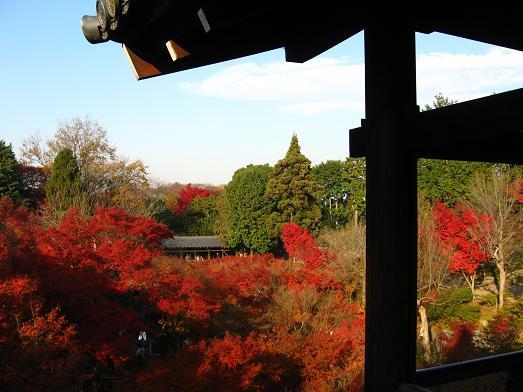 東福寺 通天橋から臥雲橋