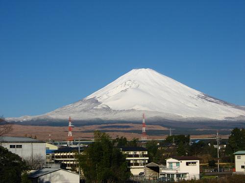 12月15日の富士山