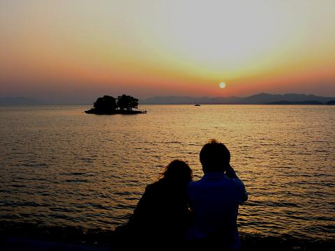 宍道湖の夕景 2