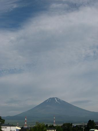 7/14の富士山