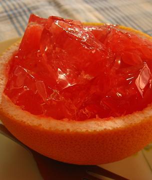 グレープフルーツゼリー 2