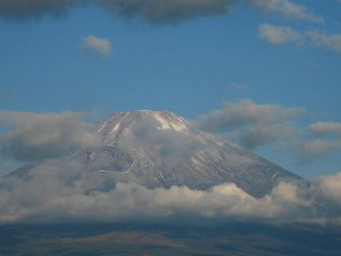 10.11の富士山