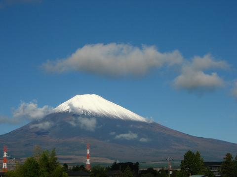 10月27日の富士山