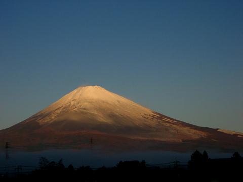 11・3の富士山