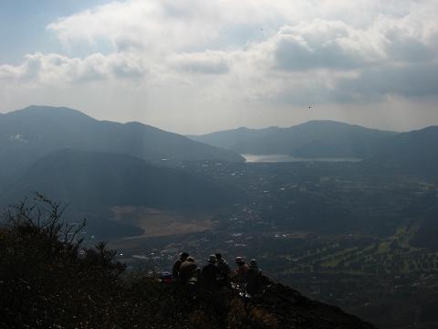 金時山にて 9