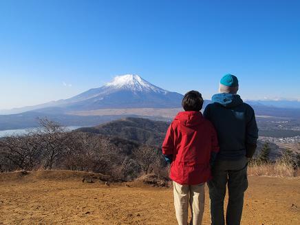 富士山を二人じめ(^^)