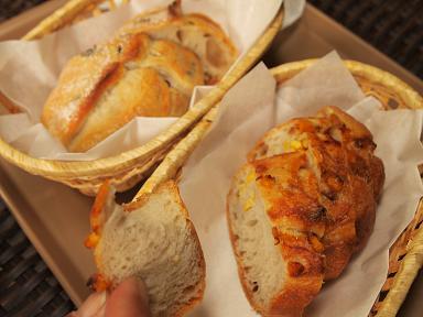ル・フィヤージュのパン 美味しかったです!
