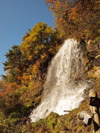 横谷峡 乙女の滝