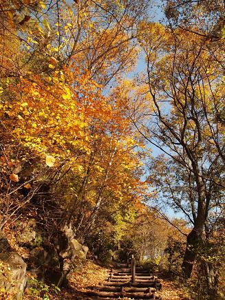 横谷峡を散策