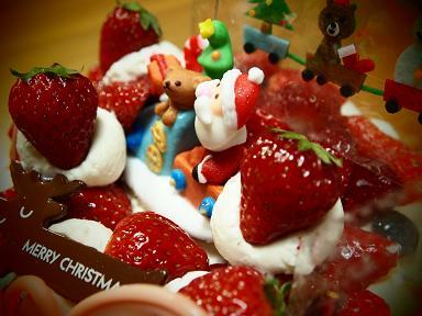 姫2サンタからのケーキ!