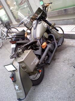 町で見掛けたバイク