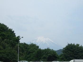 6/14 東名鮎沢PAからの富士山
